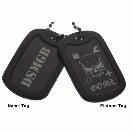 GOML Platoon Dog Tags